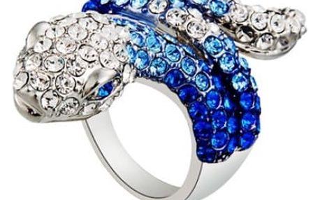 Had - prstýnek s drobnými kamínky
