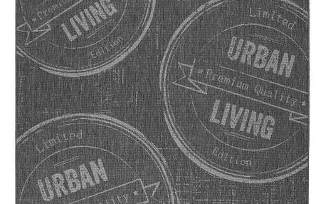 Hladce tkaný koberec urban living 1, 80/200 cm