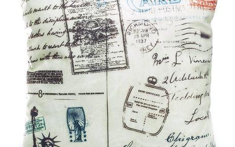 Jahu Povlak na polštářek Postcard NY, 45 x 45 cm
