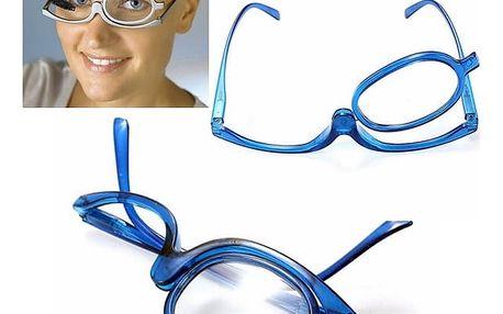 Zvětšovací brýle pro líčení - 2,5 dioptrie