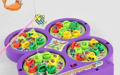 Dětská hra - magnetické rybičky
