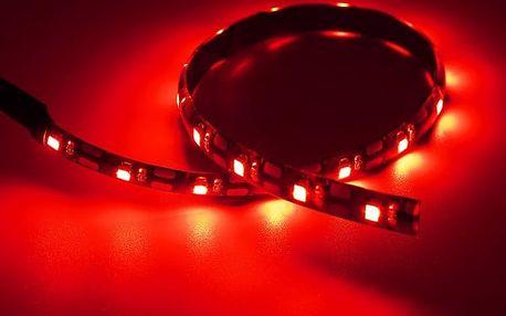 LED páska pro podsvícení interiéru - 30 cm - Červená