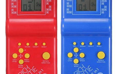 Tetris a další zábavné hry - retro hračka - dodání do 2 dnů
