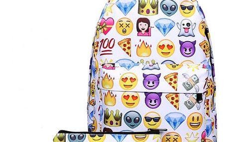 Nylonový cestovní batoh s penálem - 4 varianty