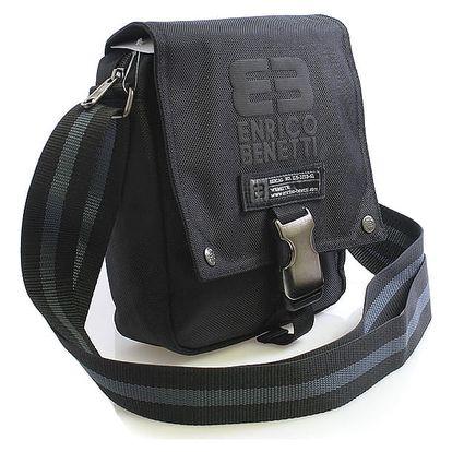 Černá taška na doklady Enrico Benetti 4478 černá