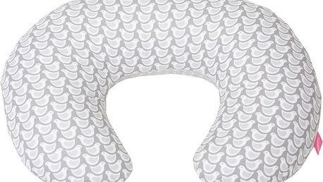 MOTHERHOOD Kojící polštář - šedý ptáček