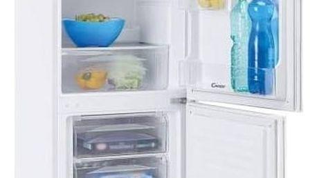 Kombinace chladničky s mrazničkou Candy CCBS 5154W bílá + Doprava zdarma