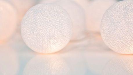 Svítící řetěz Irislights Pure White, 35 světýlek