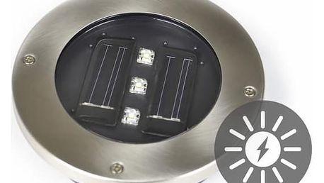 Garthen 270 Solární zahradní vestavěné svítidlo se 3 LED diodami