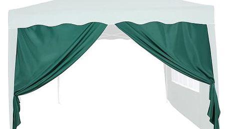 Tuin 6357 Boční stěna k zahradnímu stanu 3x3 - bez oken - zelená