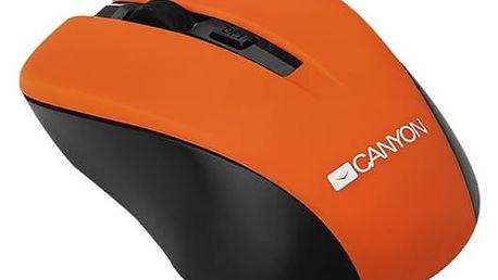 Myš Canyon CNE-CMSW1 (CNE-CMSW1O) oranžová