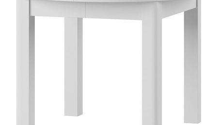 Bílý rozkládací jídelní stůl Szynaka Meble Uran - doprava zdarma!