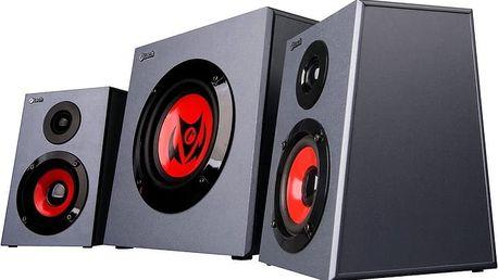 C-TECH Syrus GSPK-05 + Myš C-TECH Akantha, herní, červené LED, černá v ceně 185 Kč