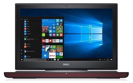 Notebook Dell 15 Gaming 7000 (7566) (N-7566-N2-512K) černý