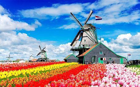 4denní poznávací zájezd pro 1 osobu do Nizozemska s návštěvou Amsterdamu i Alkmaaru