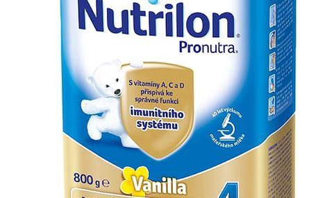 3x NUTRILON 4 ProNutra vanilka (800g) - kojenecké mléko