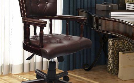 Otočné kancelářské křeslo V0042 Dekorhome