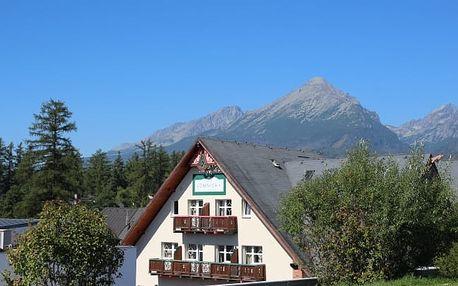 Vysoké Tatry pro dva s polopenzí a wellness