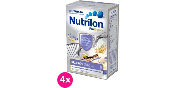 4x NUTRILON ProExpert Allergy (250g) - nemléčná kaše
