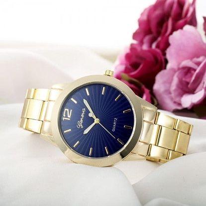 Dámské hodinky v klasickém designu - mix barev