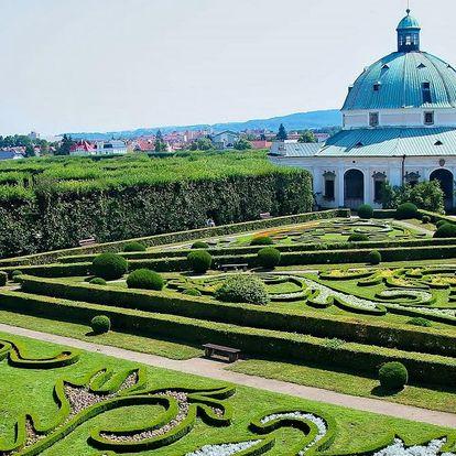 Pobyt s poznáním Olomoucka a Kroměřížska