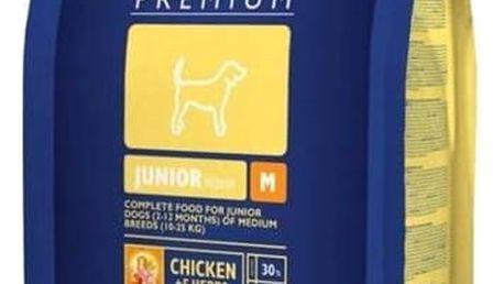 Granule Brit Premium Dog Junior M 3 kg
