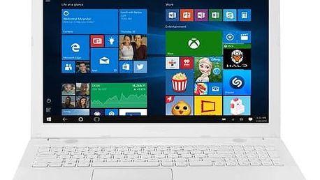 Notebook Asus R541SA-DM464T (R541SA-DM464T) bílý Software Microsoft Office 365 pro jednotlivce CZ ESD licence (zdarma)Software F-Secure SAFE 6 měsíců pro 3 zařízení (zdarma)Monitorovací software Pinya Guard - licence na 6 měsíců (zdarma) + Doprava zdarma