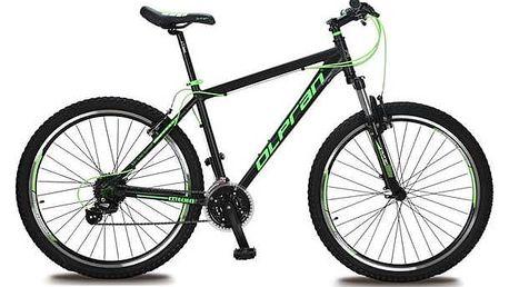"""Horské kolo Olpran EXTREME 27,5"""" černé/zelené + Reflexní sada 2 SportTeam (pásek, přívěsek, samolepky) - zelené v hodnotě 58 Kč + Doprava zdarma"""