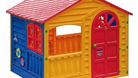 Dětský domeček Marian Plast HAPPY House + Doprava zdarma
