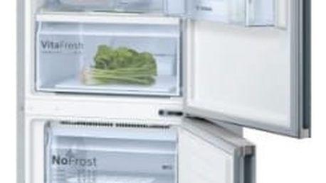 Kombinace chladničky s mrazničkou Bosch KGN36VL35 Inoxlook + dárek