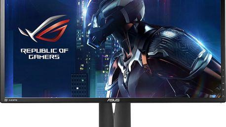 """ASUS ROG Swift PG248Q - LED monitor 24"""" - 90LM02J0-B01370 + Sluchátka Asus Cerberus iCafe v hodnetě 1399,- k LCD Asus zdarma"""