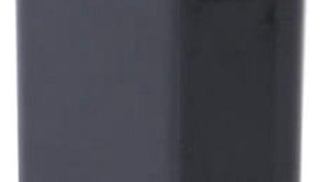 Jednobarevný napájecí adaptér s USB - černá barva - dodání do 2 dnů