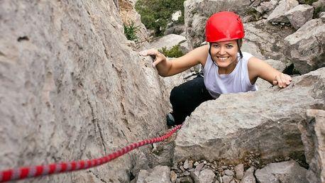 Kurz lezení via ferrata na Vysočině