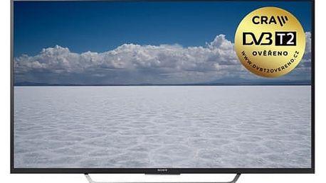 Televize Sony KD-55XD7005B černá