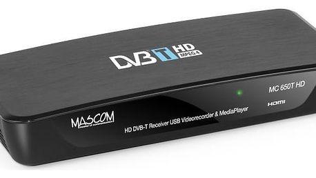 Přijímač DVB-T MASCOM MC650THD