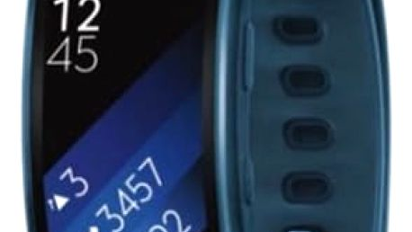 Fitness náramek Samsung Gear Fit2 vel. L (SM-R3600ZBAXEZ) modrý