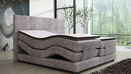 Meblemarzenie Luxusní postel MARIO ELECTRICS 180x200 cm IHNED K ODBĚRU