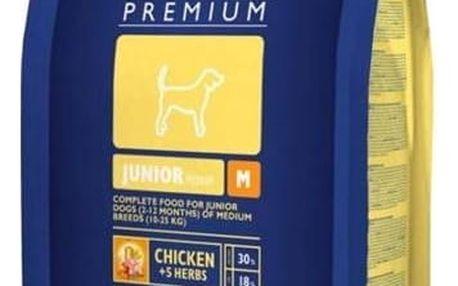 Brit Premium Dog Junior M 3 kg