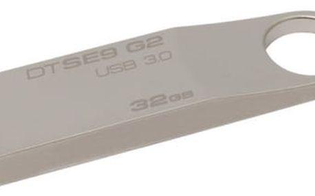 USB Flash Kingston 32GB (DTSE9G2/32GB) kovový