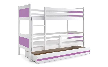 BMS GROUP Patrová postel s úložným prostorem RINO