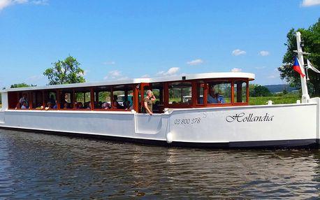 Pátek na vodě: výletní plavba po Baťově kanále