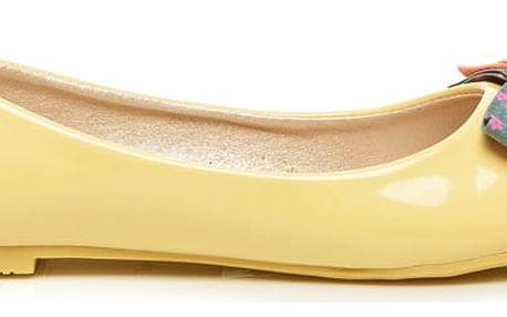 Žluté baleríny 4005-26Y 39