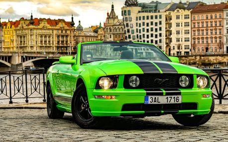 Zapůjčení vozu Ford Mustang Cabrio na 24 hodin v Praze