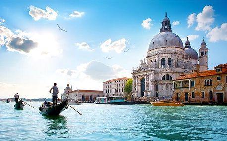6denní zájezd pro 1 do Benátek, Verony, Florencie, Říma,Vatikánu a k Lago di Garda