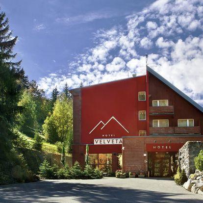 Pohodová dovolená ve Špindlu v hotelu Velveta