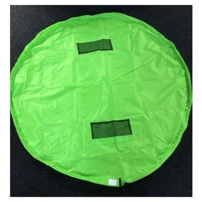Vak na hračky 156 cm - velký - zelená
