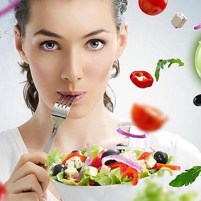 Sestavení jídelníčku na 1 měsíc včetně konzultací v plzeňském Studiu Life Energy