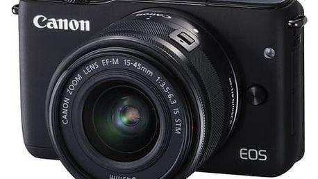 Digitální fotoaparát Canon EOS M10 + 15-45mm STM černý