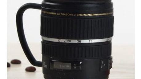 Hrnek pro fotografy - objektiv Lens cup s ouškem 200 ml
