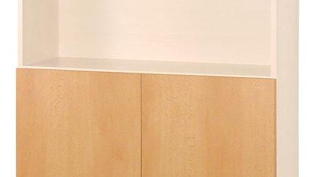 Skleněná a dřevěná dvířka 30A buk